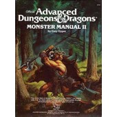 Advanced Dungeons&dragons Monster Manual Ii Gygax