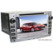 Station Multim�dia Mobile Autoradio Hd Gps Divx Dvd Mp3 Usb Sd Rds Bluetooth Ipod Pip Disque Dur 2 Go Avec Can Bus Pour Peugeot 308