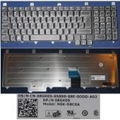 Clavier Qwerty Arabe / Arabic Pour DELL Alienware Area-51 M17x Series, Noir / Black, BACKLIT, Model: NSK-D8C0A, P/N: 08GK05 O8GK05 8GK05