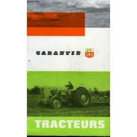 Garantie De Tracteurs Someca