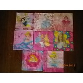 Lot De 8 Serviettes Papier Princesses, Barbie