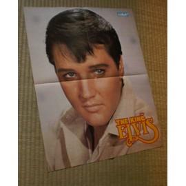 Affiche/poster Elvis Presley - magazine Salut ! - 58x46cm