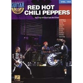 GUITAR PLAY ALONG VOL.153 RED HOT CHILI PEPPERS + CD