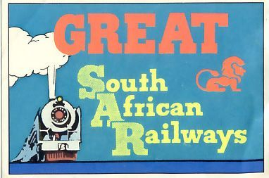 Autocollant Panini Stickers Figurine Panini Great South African Railways