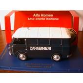 Alfa Romeo 2 Carabinieri 1964 M4 1/43 Fourgon Tole Edition Limitee Police 998 Pieces