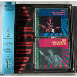 Jimi Hendrix - Live at Winterland - Coffret Rykodisc USA - 2 CD +T-Shirt