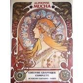 Alphonse Mucha Oeuvre Graphique Complete de HENDERSO & DVORAK