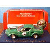 Alfa Romeo Montreal Corsa #34 6 Ore Del Nurburgring 1973 Gleich Weizinger M4 7081 1/43