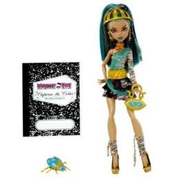 Poup�e Monster High Nefera De Nile Et Son Scarab�e
