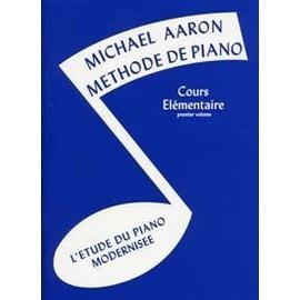 Aaron Méthode de Piano Cours élémentaire Vol. 1