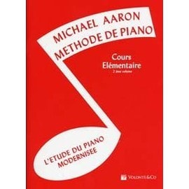 Aaron Méthode de Piano Cours élémentaire Vol. 2