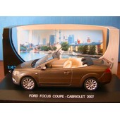 Ford Focus Coupe Cabriolet 2007 Edison Eg 841921 1/43 Marron Brown Marroon