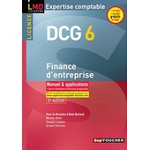 Dcg 6 Finance D'entreprise de Alain Burlaud