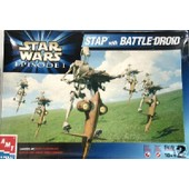 Star Wars: Stap With Battle Droid - Maquette