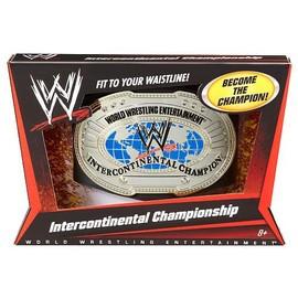 Ceinture De Catch Champion Intercontinental Mattel Wwe