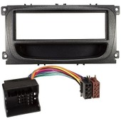 ADAPTATEUR AUTORADIO 1DIN POUR FORD (FOCUS,MONDEO,SMAX,KUGA) + CABLE ISO + FM
