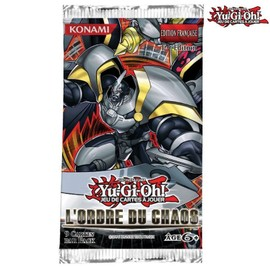 Booster Yu Gi Oh L Ordre Du Chaos