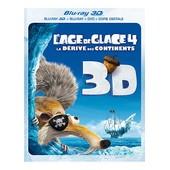 L'age De Glace 4 : La D�rive Des Continents - Combo Blu-Ray3d + Blu-Ray+ Dvd + Copie Digitale de Steve Martino