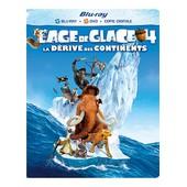 L'age De Glace 4 : La D�rive Des Continents - Combo Blu-Ray+ Dvd + Copie Digitale de Steve Martino