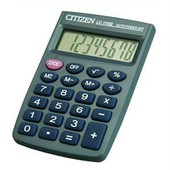 Citizen Calculatrice Ultra Compacte Lc110n Noire