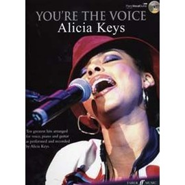KEYS ALICIA YOU'RE THE VOICE PVG + CD