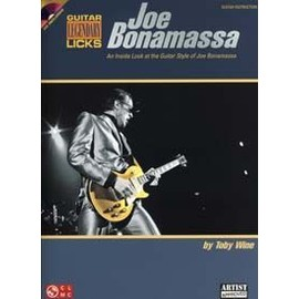 BONAMASSA JOE GUITAR LEGENDARY LICKS + CD