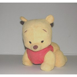 Winnie L'ourson B�b� Trotteur Parle Trotte Peluche Interactive Fisher Price 2003