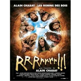 Rrrrrrr !!! - V�ritable Affiche De Cin�ma Pli�e - Format 120x160 Cm Pli�e -De & Avec Alain Chabat Avec Maurice Barth�l�my, Jean-Paul Rouve, G�rard Depardieu, Marina Fo�s, Jean Rochefort - 2004