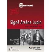 Sign� Ars�ne Lupin de Robert Yves