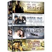 Collection Guerre - Coffret 4 Films N� 2 : Hitler - La Naissance Du Mal + Hiver 1945 + War & Destiny + Soldier Of Honor - Pack