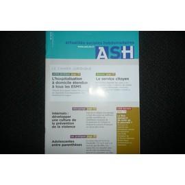 Actualit�s Sociales Hebdomadaires - Ash 2774