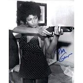 Pam Grier - Foxy Brown - Photo Dedicacee