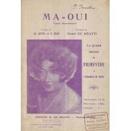 M A = o u i ( valse hawwaienne par primevere a l alhambra de paris )