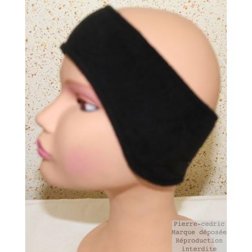 Bandeau serre tête cache oreille flexible fleece polaire mixte hommes femmes