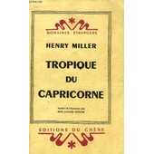 Tropique Du Capricorne de Miller Henry