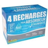 Recharge absorbeur - lot de 4 -1 Kg