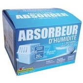 Absorbeur d'humidit� + 1 recharge 500 g - 20 m�