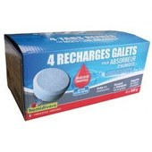 Recharge absorbeur - lot de 4