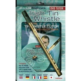 IRISH TIN WHISTLE PACK + DVD
