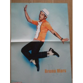 POSTER BRUNO MARS 59CM/42CM VERSO MELODY TIMES
