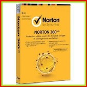 Norton 360 - (Version 6.0 ) - Ensemble De Bo�tes ( 1 An ) - 3 Pc Par Foyer - Cd - Win - Fran�ais