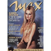 Max / 09-1995 N�73 : Karen Mulder (10p + Poster) - Keanu Reeves (4p) - Tony Ward (9p)