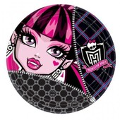 8 Assiettes Monster High - Anniversaire Enfant - Go�ter Enfant