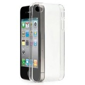 Coque Housse Etui Cristal Crystal Blanc Transparent Iphone 5