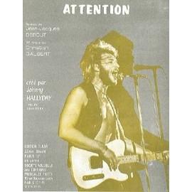 ATTENTION - HALLYDAY Johnny