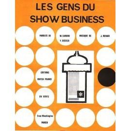 LES GENS DU SHOW BUSINESS - SARDOU Michel