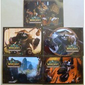 5 Cartes Postales Collector World Of Warcraft