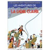 Carton D'invitation Exem La Ligne Claire Festival Bd Lausanne 2012 (Herg� Jacobs Chaland...)