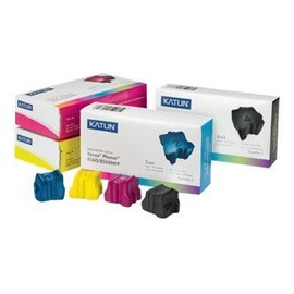 Media Sciences - 3 - Cyan - Encres Solides (�quivalent � : Xerox 108r00724 ) - Pour Xerox Phaser 8560