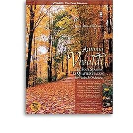 Antonio Vivaldi: The Four Seasons For Violin And Orchestra Op.8 Nos.1- 4 + CD